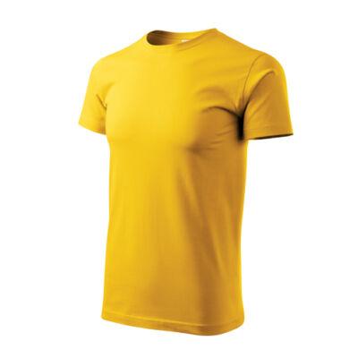 Basic póló Sárga 5XL