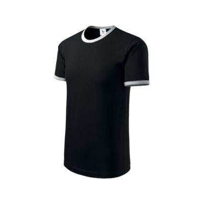 Infinity Unisex póló Fekete XL - Nante Kft ceaab65297