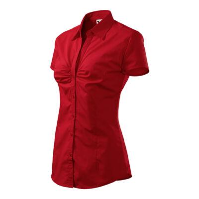 Chic Női blúz Piros L