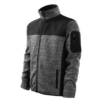 Malfini Casual Doftshell dzseki Knit gray