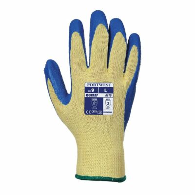Kevlar® Tenyérmártott Latex kesztyű