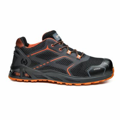 BASE K-Step cipő S1P HRO SRC fekete/narancs