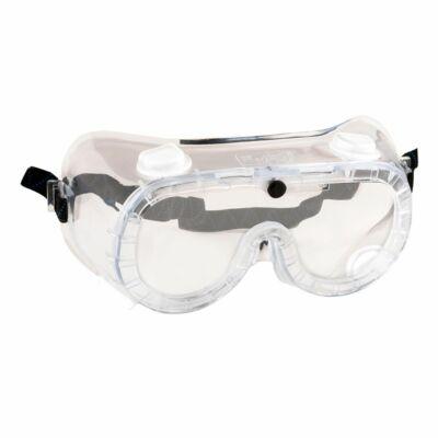 Gumipántos (Indirekt ventilációs) védőszemüveg
