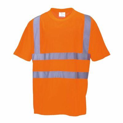 Jól Láthatósági Póló Vasúti dolgozók részére