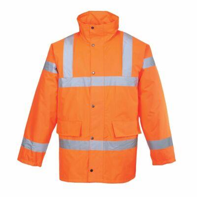 Jól Láthatósági Kabát Vasúti dolgozók részére