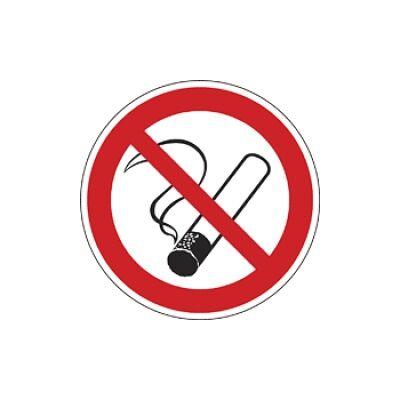 Dohányozni tilos! (belülről ragasztható) Vinil matrica 50x50