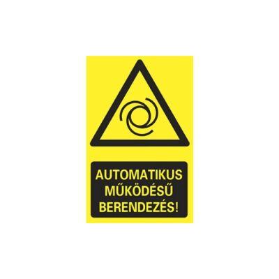 Automatikus működésű berendezés Vinil matrica 160x250