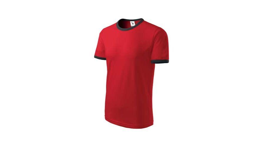 Infinity Unisex póló Piros L - Nante Kft 8d8a6015ca