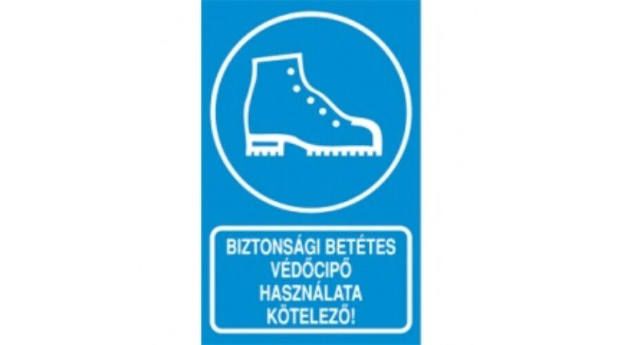 Biztonsági betétes védőcipő használata kötelező | St.Florian